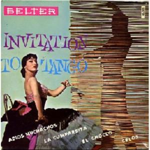 Roland Palette Y Su Orquesta - Invitation To Tango - Vinyl Record - EP