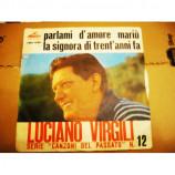 Luciano Virgili - Parlami D'Amore Mariù / La Gignora Di Tren