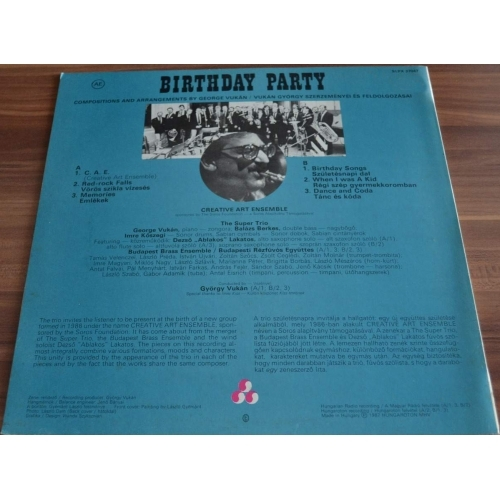 Super Trio - Birthday Party - Vinyl - LP
