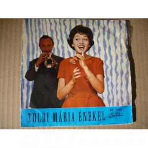 Toldi Maria - Viaszbaba (Poupée De Cire, Poupée De Son) - Vinyl Record - EP