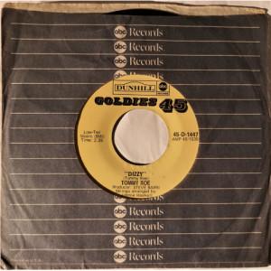 """Tommy Roe - Dizzy / Hooray For Hazel - Vinyl - 7"""""""