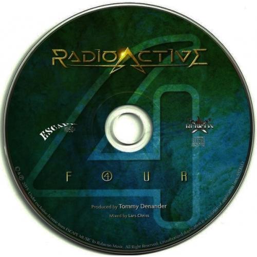 Radioactive - F4UR    - CD - Album