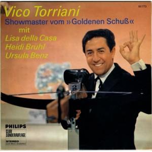 Vico Torriani-Heidi Brühl-Ursula Benz-Lisa Della - Showmaster Vom Goldenen Schuss - Vinyl Record - 10''