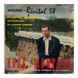 Yves Montand - Micro-Recital 58 No. 7
