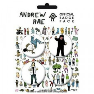 BADGE PACK - ANDREW RAE - Badges - Books & Others - Others