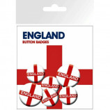 BADGE PACK - ENGLAND FLAG - Badges