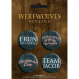BADGE PACK - WEREWOLF - Badges