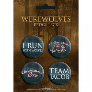 BADGE PACK - WEREWOLF - Badges - Books & Others - Others