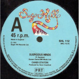 CANDI STATON - SUSPICIOUS MINDS / LET'S LOVE & BE FREE - 12 Inch