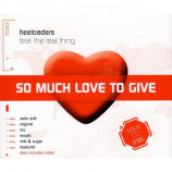 FREELOADERS - SO MUCH LOVE TO GIVE - CD Single