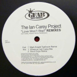 IAN CAREY PROJECT - LOVE WON'T WAIT - 12 Inch