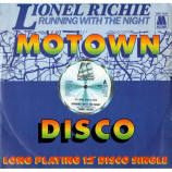 LIONEL RICHIE - RUNNING WITH THE NIGHT - 12 Inch