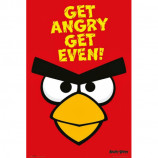 MAXI POSTER (61cm x 91.5cm) - ANGRY BIRDS : GET ANGRY GET EVEN - Poster