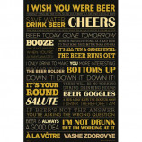 MAXI POSTER (61cm x 91.5cm) - BEER : LIFE - Poster
