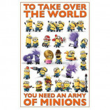 MAXI POSTER (61cm x 91.5cm) - DESPICABLE ME 2 : TAKE OVER THE WORLD - Poster