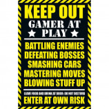 MAXI POSTER (61cm x 91.5cm) - GAMING : KEEP OUT - Poster