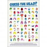 MAXI POSTER (61cm x 91.5cm) - GUESS THE HEAD - Poster