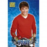 MAXI POSTER (61cm x 91.5cm) - HIGH SCHOOL MUSICAL 2 : TROY - Poster