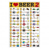 MAXI POSTER (61cm x 91.5cm) - I LOVE BEER 2 - Poster