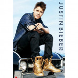 MAXI POSTER (61cm x 91.5cm) - JUSTIN BIEBER : GOLD BOOTS - Poster