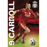 MAXI POSTER (61cm x 91.5cm) - LIVERPOOL : ANDY CARROLL 2011-2012 - Poster