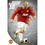 MAXI POSTER (61cm x 91.5cm) - MANCHESTER UNITED : ROONEY 2011-12 - Poster