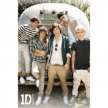 MAXI POSTER (61cm x 91.5cm) - ONE DIRECTION : AIRSTREAM - Poster