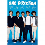 MAXI POSTER (61cm x 91.5cm) - ONE DIRECTION : SIGNATURE - Poster