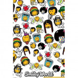 MAXI POSTER (61cm x 91.5cm) - SMILEY WORLD : MUSIC STYLES - Poster