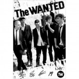 MAXI POSTER (61cm x 91.5cm) - THE WANTED : BLACK AND WHITE - Poster