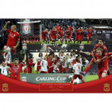 MAXI POSTER (91.5cm x 61cm) - LIVERPOOL FC CUP WINNERS 2012 - Poster