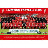 MAXI POSTER (91.5cm x 61cm) - LIVERPOOL FC TEAM PHOTO 2013 - 2014 - Poster