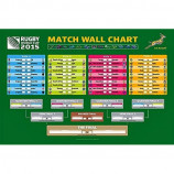 MAXI POSTER (91.5cm x 61cm) - RUGBY WORLD CUP 2015 WALL CHART - Poster