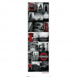 MIDI POSTER (30.5cm x 91.5cm) - LONDON COLLAGE - Poster