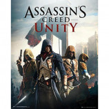 MINI POSTER (40cm x 50cm) - ASSASSIN'S CREED UNITY : COVER - Poster