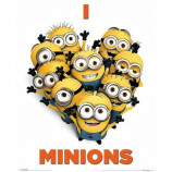 MINI POSTER (40cm x 50cm) - DESPICABLE ME 2 : I LOVE MINIONS - Poster