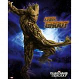MINI POSTER (40cm x 50cm) - GUARDIANS OF THE GALAXY : GROOT - Poster