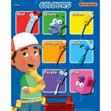 MINI POSTER (40cm x 50cm) - HANDY MANNY : COLOURS - Poster