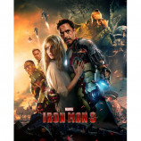 MINI POSTER (40cm x 50cm) - IRON MAN 3 : ONE SHEET - Poster
