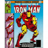 MINI POSTER (40cm x 50cm) - IRON MAN : COMIC COVER - Poster