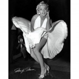 MINI POSTER (40cm x 50cm) - MARILYN MONROE : SEVEN YEAR ITCH - Poster