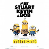 MINI POSTER (40cm x 50cm) - MINIONS : I'M WITH STUPID - Poster