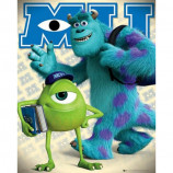 MINI POSTER (40cm x 50cm) - MONSTERS UNIVERSITY : MIKE AND SULLY - Poster