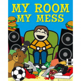 MINI POSTER (40cm x 50cm) - MY ROOM MY MESS - Poster