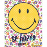 MINI POSTER (40cm x 50cm) - SMILEY : BE HAPPY - Poster