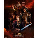 MINI POSTER (40cm x 50cm) - THE HOBBIT DESOLATION OF SMAUG : FIRE MONTAGE - Poster