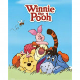 MINI POSTER (40cm x 50cm) - WINNIE THE POOH : CHARACTERS - Poster