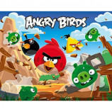 MINI POSTER (50cm x 40cm) - ANGRY BIRDS : DESTROY - Poster