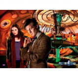 MINI POSTER (50cm x 40cm) - DOCTOR WHO : TARDIS AND AMY - Poster