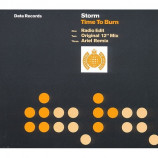STORM - TIME TO BURN - CD Single